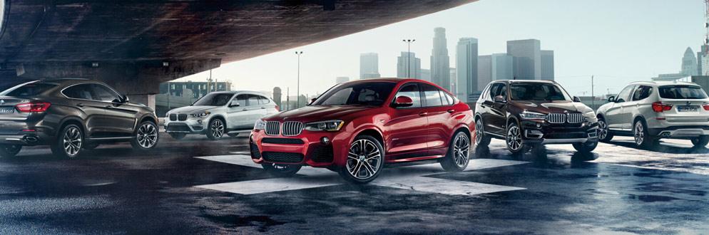 2017 BMW X Series