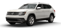 2018 Volkswagen Atlas Launch Edition with 4MOTION