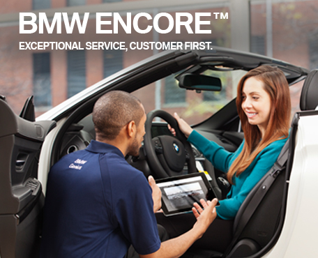 BMW Encore Delivery