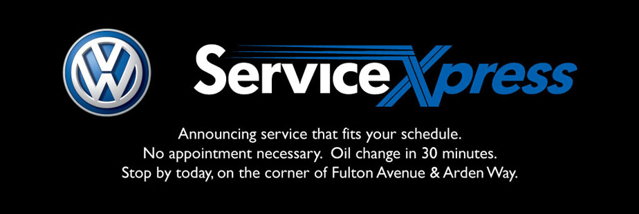 Service Xpress Now Available At Niello Volkswagen