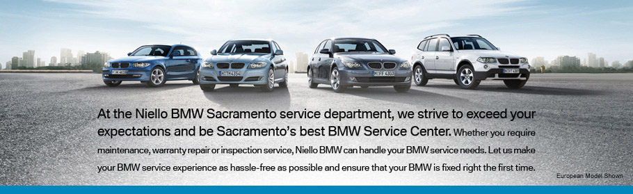 Niello BMW Sacramento Service Department