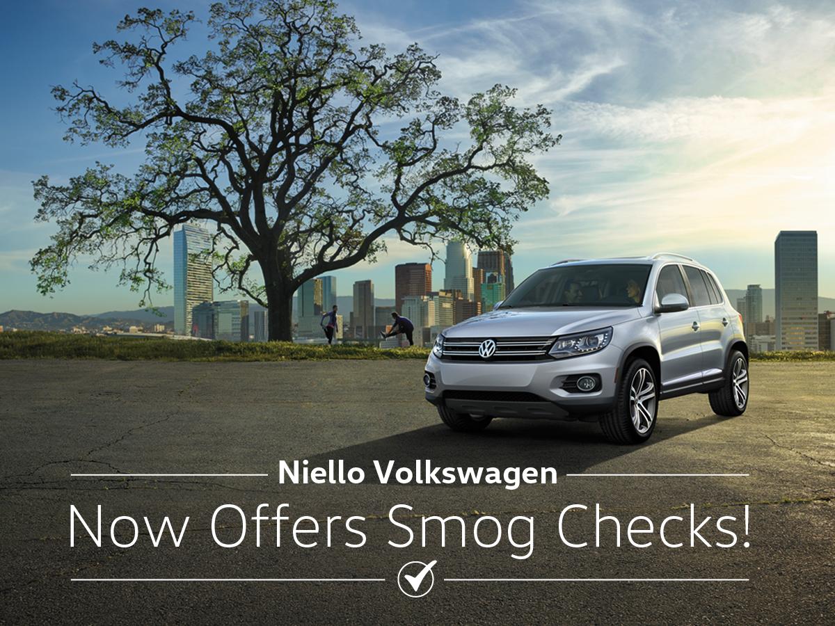 Smog Check Niello Volkswagen Sacramento California